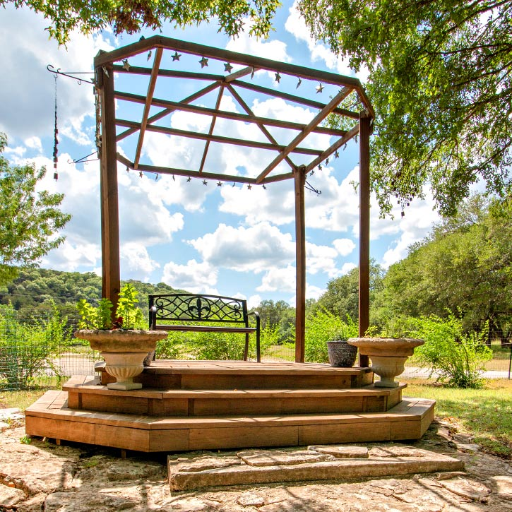 San Antonio Event Venues | Retreat Locations in Texas | Texas Hill Country | Outdoor Memorial Service venue